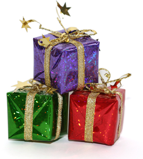 cadeaux de Noël à l'avance