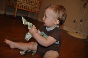 argent de poche pour un enfant