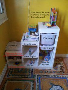 les jouets des bébés